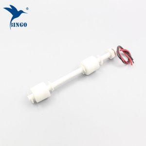 Interrupteur à flotteur en plastique à deux points de contrôle customzied