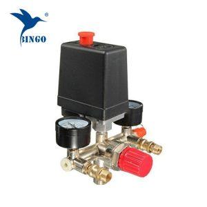 Jauges de régulateur de pressostat de compresseur d'air à 1 port de 125 psi