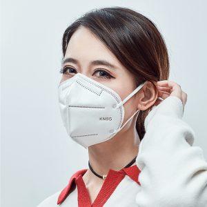 n95 Masque jetable pour éviter le smog, empêcher la poussière et respirer librement