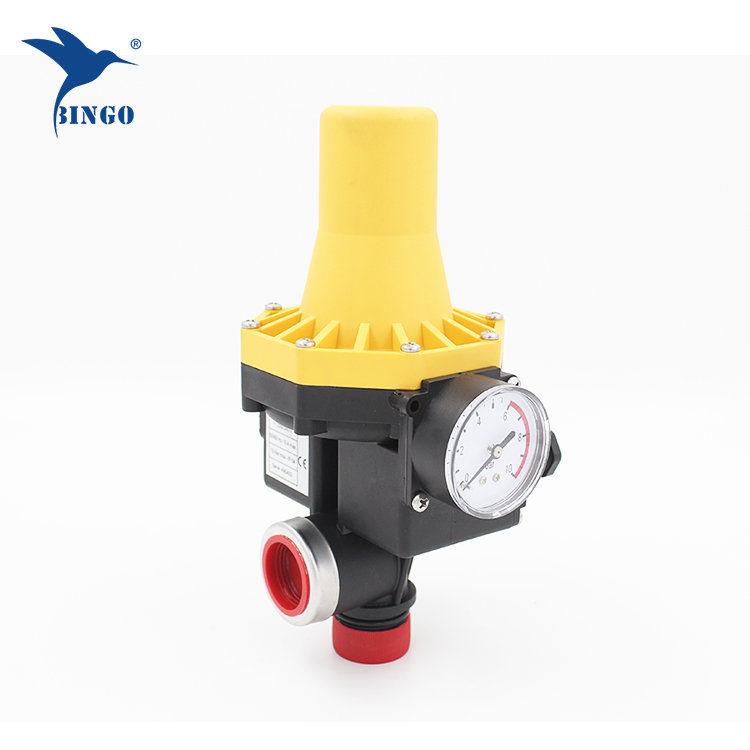 Contrôle de pression automatique pour pompe