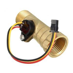 contrôle de commutateur de compteur de capteur de débit de turbine de salle de laiton