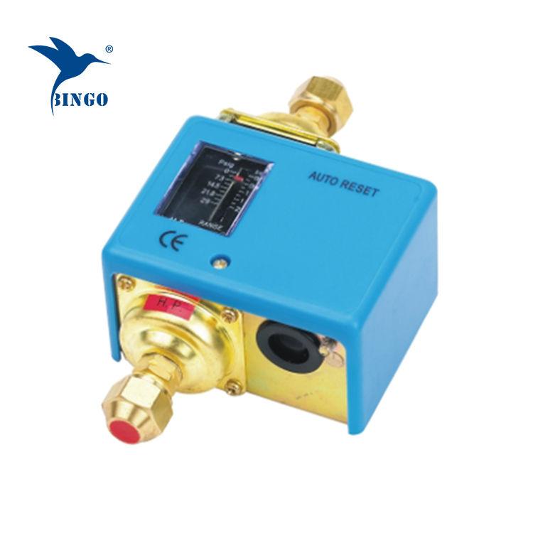 Commutateur de contrôle automatique de la pression différentielle à faible compresseur d'air