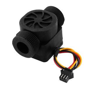 """hall effect g3 / 4 """"capteur de débit d'eau en plastique compteur à turbine dn20 capteurs de débit de liquide"""