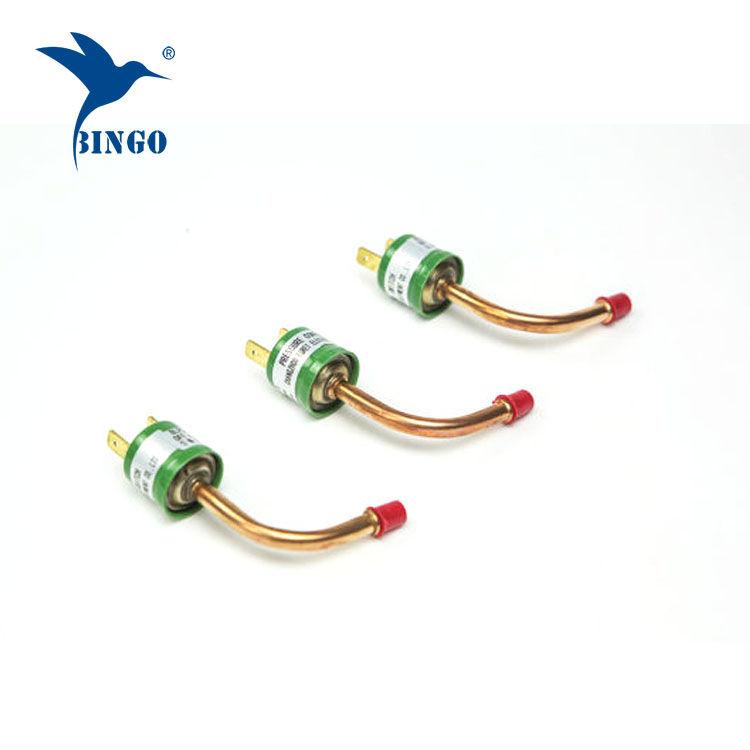 Pressostat / contrôle de pompe à chaleur