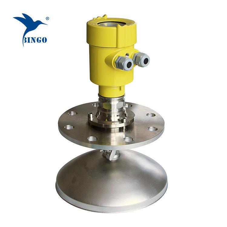 Transmetteur de niveau radar à haute fréquence 4-20mA Hart pour la poussière