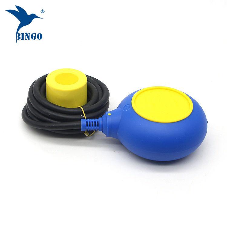 Régulateur de niveau de type MAC 3 en couleur jaune et bleu