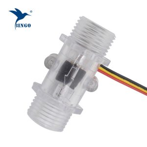 Capteur de débit d'eau à impulsions