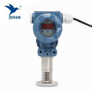 Transmetteur de pression à affleurement sanitaire avec affichage à LED