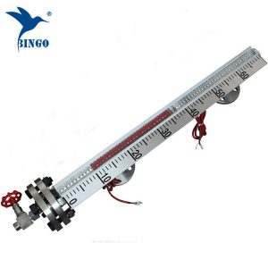 Jauge de niveau magnétique SUS304SUS316L à montage latéral