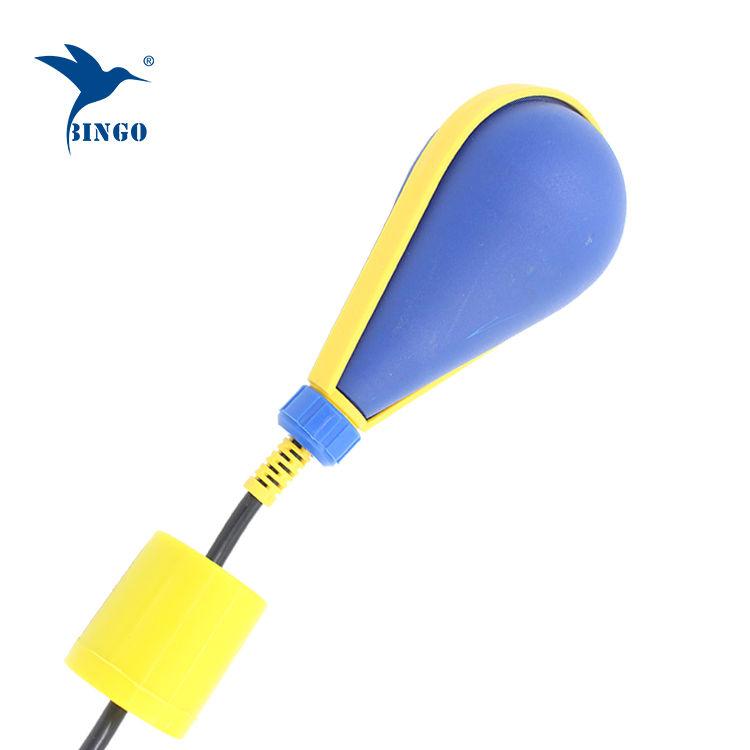 Contacteur de niveau à flotteur en forme de poire avec pompe à puisard