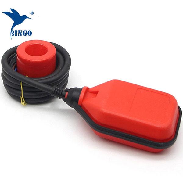 interrupteur à flotteur inclinable