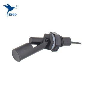 Plastique horizontal à montage latéral Interrupteur à flotteur magnétique à 2 fils pour niveau haut / bas avec signal de commutation