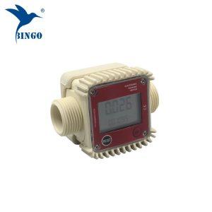 Top qualité 10-120L / min numérique débitmètre à turbine à eau électronique
