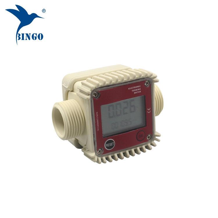 débitmètre numérique à turbine à eau