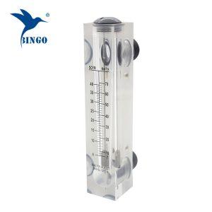 bon marché débitmètres de panneau de débitmètre d'eau / débitmètre liquide utilisés dans le système de ro / débitmètre d'air